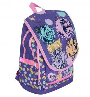 Рюкзак  2 отделения на молнии Monster High