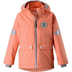 Демисезонная куртка  Sydvest Reima. Цвет: оранжевый