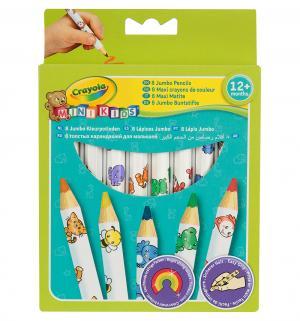 Карандаши цветные  толстые Crayola