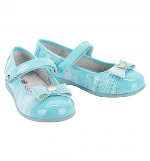 Туфли , цвет: бирюзовый Думми
