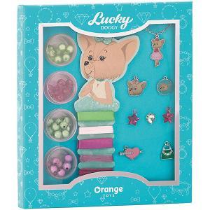 Набор для создания украшений  Lucky Doggy Йорк Orange. Цвет: бирюзовый