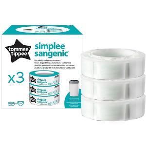 Сменная кассета для утилизатора  Simplee, 3 шт. Tommee Tippee