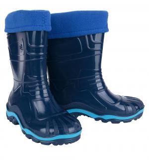 Резиновые сапоги , цвет: синий Дюна