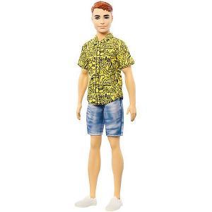 Кукла Кен Barbie Игра с модой, 29 см Mattel. Цвет: разноцветный