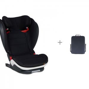 Автокресло  iZi Flex S Fix Premium Car Interior Black и защитная накидка Экокожа ProtectionBaby BeSafe