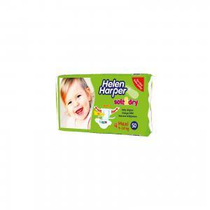 Подгузники Soft & Dry maxi  7-18кг., 50 шт. Helen Harper