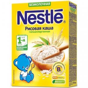 Каша  безмолочная Рисовая Моя 1-ая Каша.Начинаем прикорм с 4 месяцев 200 г Nestle