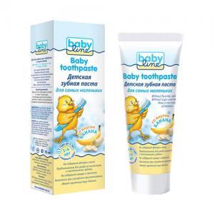 Зубная паста  Банан, от 1 до 4 лет, 75 мл Baby Line