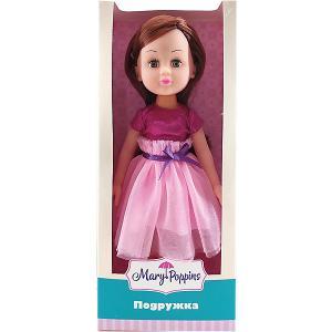 Кукла шатенка  Подружка, 31см Mary Poppins. Цвет: розовый