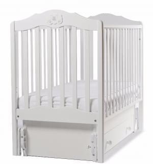 Кровать  Сюзанна, цвет: белый Angela Bella