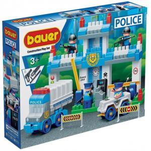 Конструктор  Полиция Полицейский участок (127 элементов) Bauer