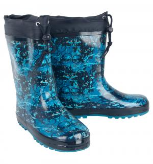 Резиновые сапоги , цвет: синий Twins