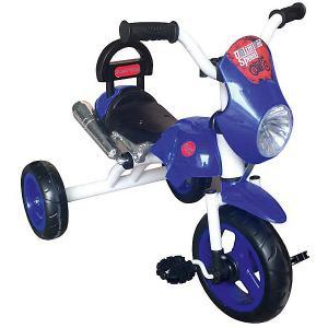 Трехколесный велосипед  Super Trike Moto, синий Lexus. Цвет: синий