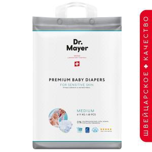 Подгузники  (6-11 кг) шт. Dr.Mayer