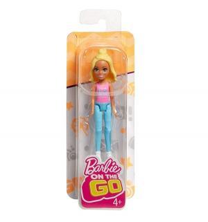 Кукла  В движении Блондинка розовом топе 11 см Barbie