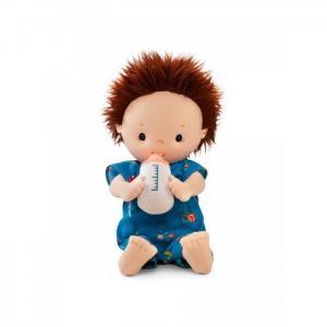 Кукла Ноа мягкая с бутылочкой Lilliputiens