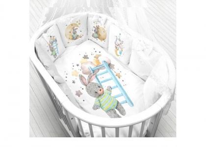 Комплект в кроватку  Лунная соната (6 предметов) Луняшки