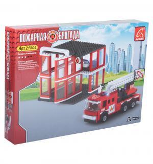 Конструктор  Пожарные (299 дет.) Ausini