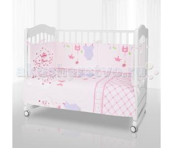 Комплект в кроватку  Princess (6 предметов) Eco Line