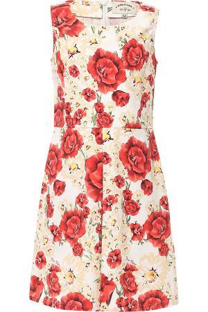 Платье , цвет: белый/красный Finn Flare