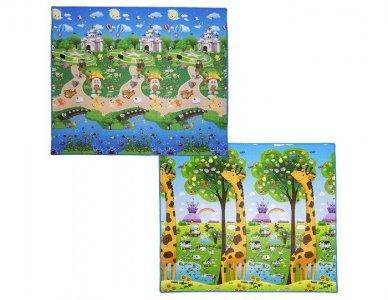 Игровой коврик  Прогулки в парке и Жираф 200х180х0.5 см BabyPol