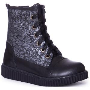 Утепленные ботинки Minimen. Цвет: черный