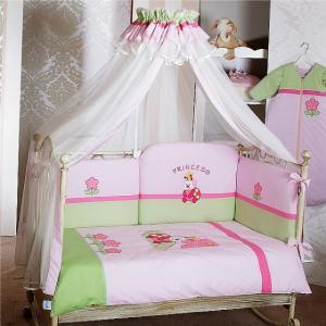 Комплект в кроватку  Princess Sestetto Long (6 предметов) Feretti