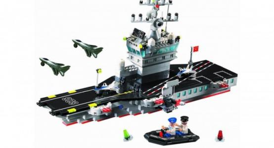 Конструктор  Корабль-самолётоноситель 826 (508 элементов) Enlighten Brick