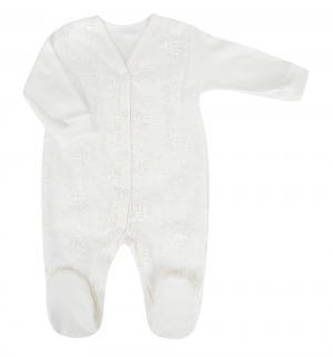 Комбинезон , цвет: белый Baby Pollo