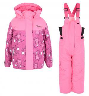 Комплект куртка/полукомбинезон , цвет: фуксия Fobs