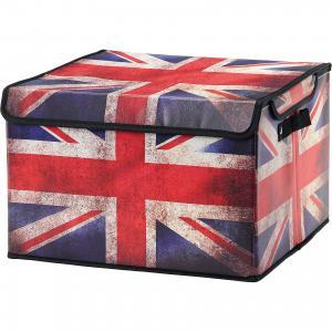 Кофр складной для хранения 41*36*26 см. Британский флаг, EL Casa