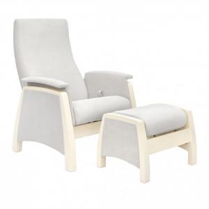 Кресло для мамы  Sky с пуфом Дуб шампань Milli