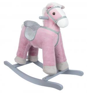 Качалка - игрушка  Лошадка, цвет: розовый Leader Kids