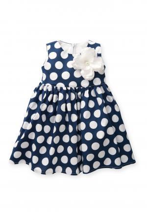 Платье , цвет: белый/синий Flobaby