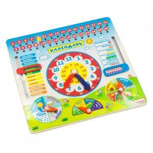 Деревянная игрушка  Календарь Alatoys