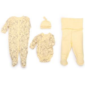 Набор для новорожденного Happy Baby. Цвет: желтый