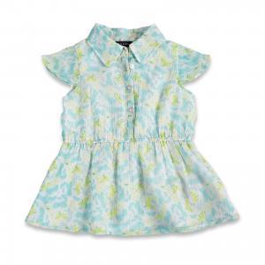 Блузка для девочки BLUE SEVEN. Цвет: голубой