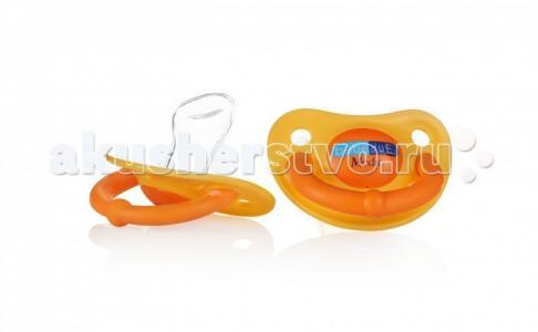 Пустышка  силиконовая ортодонтическая Medic 6+ мес. 2 шт. Bebe Due