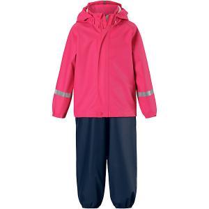 Комплект  Tihku: ветровка и брюки Reima. Цвет: розовый