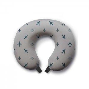 Дорожная подушка для шеи Туристические самолеты Ambesonne