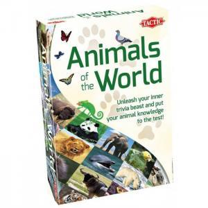 Настольная игра Животные мира Tactic Games