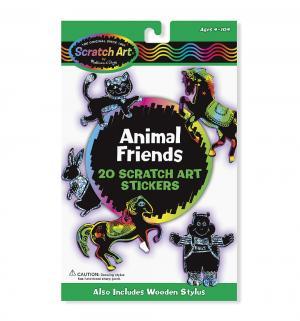 Наборы с наклейками  Животные Melissa&Doug