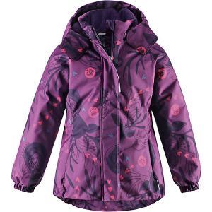 Утепленная куртка Lassie. Цвет: лиловый