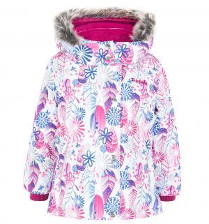 Комплект куртка/полукомбинезон , цвет: белый/голубой Zingaro By Gusti