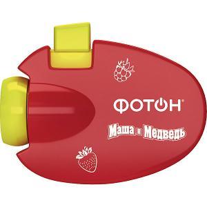 Мультфонарик-проектор  Маша и Медведь Фотон. Цвет: красный