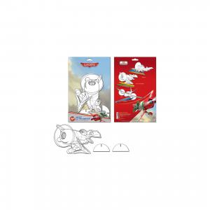 Набор для рисования с фигуркой и фломастерами Disney Самолеты Limpopo