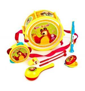 Набор музыкальных инструментов  Маша и медведь Играем Вместе