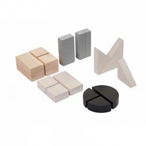 Деревянная игрушка  Блоки Геометрия Plan Toys