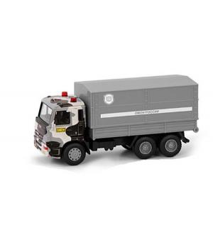 Инерционный грузовик  Камаз ОМОН 17 см Play Smart