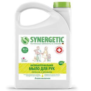 Мыло жидкое биоразлагаемое \Мелисса и ромашка\ 3.5 л. Synergetic